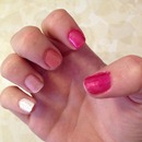 Ombre in Pink