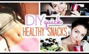 DIY Healthy Snacks: Get a Flat Tummy in 2015! (Quick and Easy Ideas!)