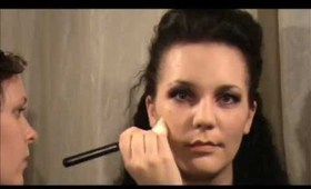 Fashion Five movie MakeUp: Milena