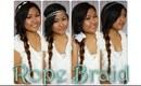 Rope Braid + 4 Hair Accessories