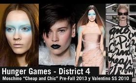 Halloween Makeup - Hunger Games District 4.