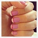 purple wiv white tip