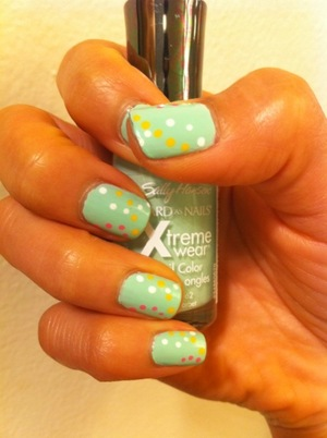 Sally Hansen Mint Sorbet..