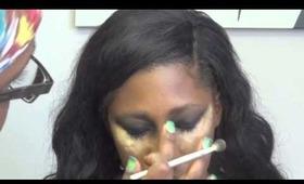 Makeup Tutorial: Work face to Werk face
