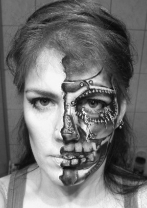 Robot fail  Please check out my fan page ----->  http://www.facebook.com/pages/Marys-MakeUp-Attempts-M-MUA/179344135415619?ref=ts