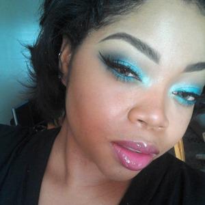 mac and bh cosmetics shadows