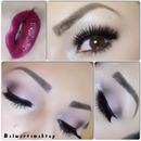 Makeup using naked3 palette