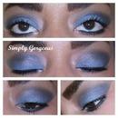 FOTD: Gray Smoky Eye + Lip Gloss