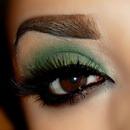 Smokey green