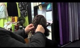 1033 Main Salon & Spa: Quick, Easy Braid Updo for Medium to Long Hair