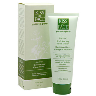 Kiss My Face Start Up - (Exfoliating Face Wash)