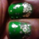 "Green and Glitter ""From the Bottom Up"""