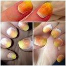 Candy Corn Ombré Nails