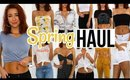 SPRING TRY-ON HAUL | Forever 21, Fashion Nova, Nasty Gal