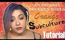 Orange Subculture Palette Tutorial Anastasia Beverly Hills Eye Makeup  (NoBlandMakeup)