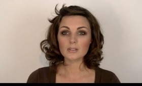 Easy smoky brown eyeshadow tutorial