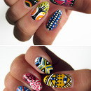 Miniature Nail Artworks