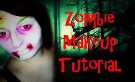 Tim Burton Inspired Zombie Makeup Tutorial