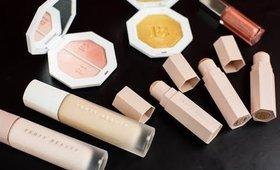 FENTY BEAUTY BY RIHANNA!  FIRST IMPRESSIONS, DEMO, & SWATCHES!