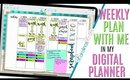 Setting Up Weekly Digital Plan With Me August 19 to August 25 Digital PLAN WITH ME this week