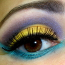 Yellow, Purple & Teal