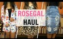 *HUGE* FASHION TRY-ON HAUL | ROSEGAL.COM | Stacey Castanha
