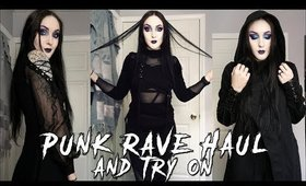Punk Rave Haul and Try On!!