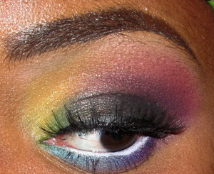 This look is a recreated look that I was inspired by, the original creator of this look is a youtuber who goes by the name of iwanted2c1video check out her videos on YouTube there really good. Thank you to iwanted2c1video for the inspiration.