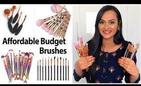 எனக்கு பிடித்த Affordable Budget Makeup Brushes   Less Than 399 Rs Only
