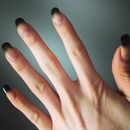 Ombre Black Tips