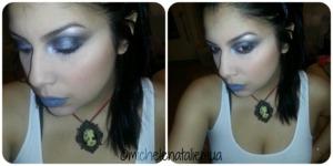On my lips I have Melt Cosmetics Space Cake lipstick
