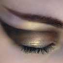 Dramatic Gold Shimmer