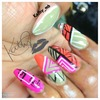 abstract.      stiletto nails