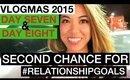 VLOGMAS 2015: DAY 7 & 8 ❆ A SECOND CHANCE FOR #RELATIONSHIPGOALS | yummiebitez