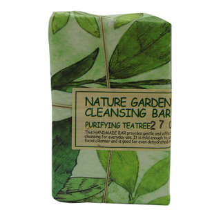 The Face Shop Nature Garden Cleansing Bar - Purifying Teatree