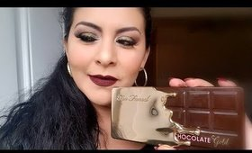 Verde olivo con Cholate Gold Palette de Toofaced