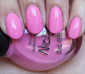 From the Carrie Underwood Collection out in January 2014. See more swatches here: http://www.swatchandlearn.com/quick-look-nicole-by-opi-carnival-cotton-candy-swatches/