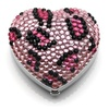 Sigma Makeup Heart Shaped Mirror - Wild Pink