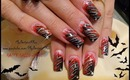 Last Minute Halloween Nails Tutorial, Fire and Ice, - ♥ MyDesigns4You ♥
