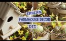 Spring Farmhouse Decor DIY