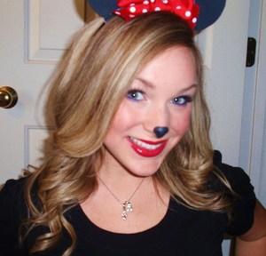 Minnie Mouse Halloween Tutorial