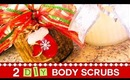♥ 2 DIY Body Scrubs! Christmas Gift Idea ♥