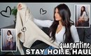 QUARANTINE TRY ON HAUL 2020! Spring to Summer Outfits feat. Princess Polly