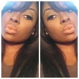 eyes: MAC's Saddle, Bamboo Matte, ORB, Mystery  brows: Mac stud brow pencil, Benefit's Brow Zing brow kit lips: NYX nutmeg lip liner, NYX skintone xtreme lip cream lashes: Kiss paparazzi 01