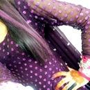 hair chalking..:)