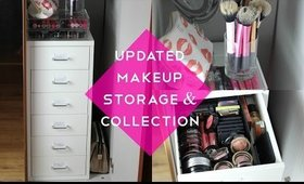 Updated Makeup Storage & Collection   MakeupByLaurenMarie