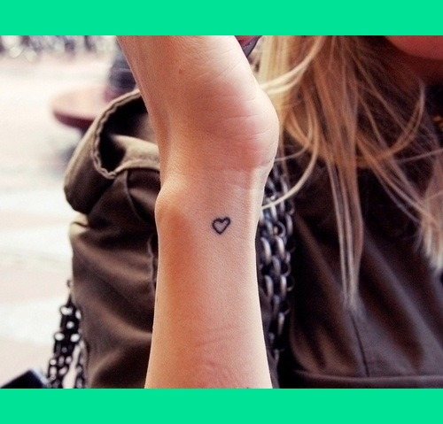 Inner Wrist Heart Tattoo Lorren W S Photo Beautylish