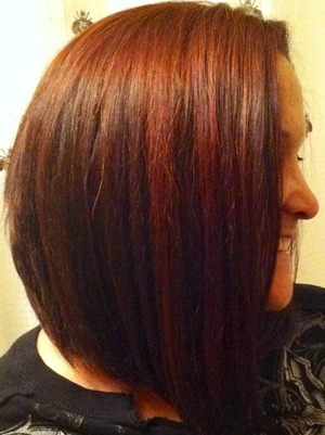 All over color to hide grays and red highlights
