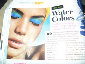 The pic that inspired my watercolor look