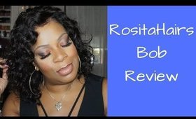 What Lace???  My new curly bob from Rositahairs.com #CurlyBob #RositaHairs